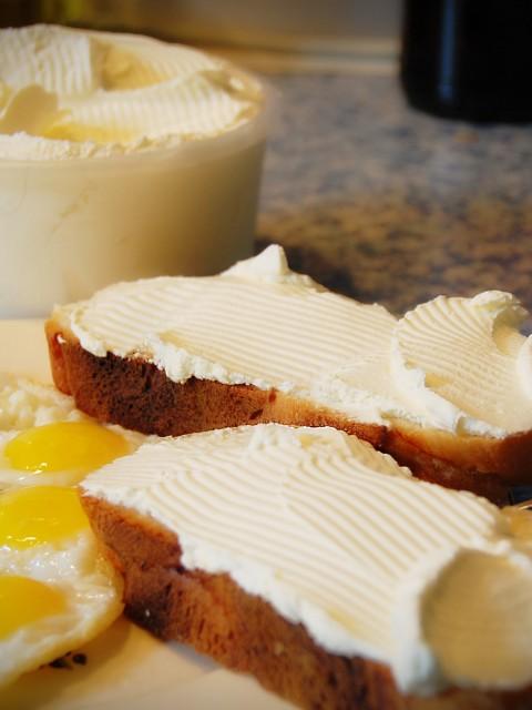 Завтрак с маскарпоне
