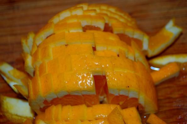 Порезать апельсины