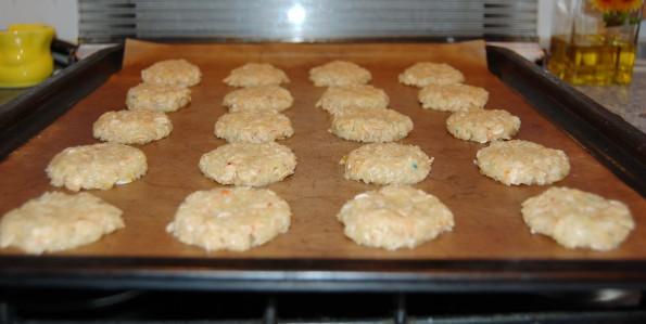Печеньки перед выпечкой