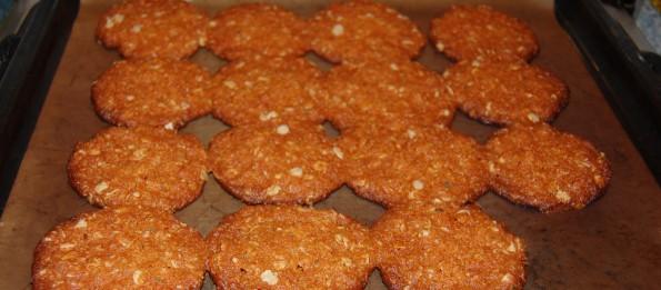 Готовые печеньки