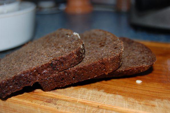 Ржаной хлеб для гаспачо